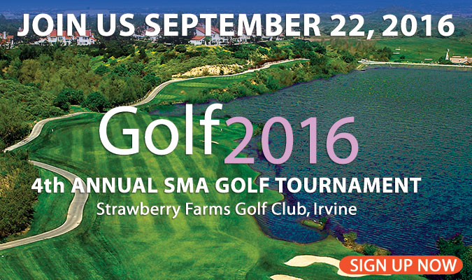 Sign up for SMA's 2016 Golf Tournament