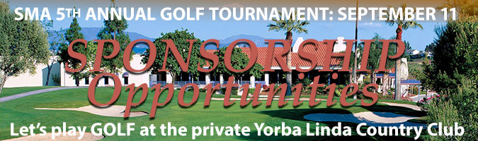 SMA golf sponsorships available now
