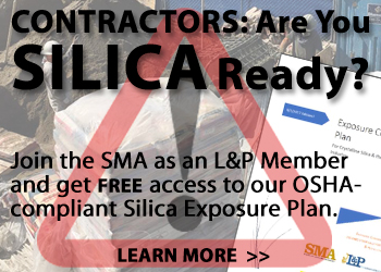 SMA's OSHA-compliant Silica Exposure Control Plan