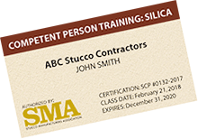 competent person testing for OSHA silica compliance