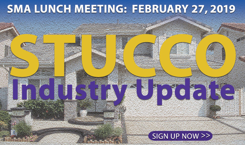 Newsletter Archives - Stucco Manufacturers Association